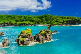 Hawaii and Tahiti