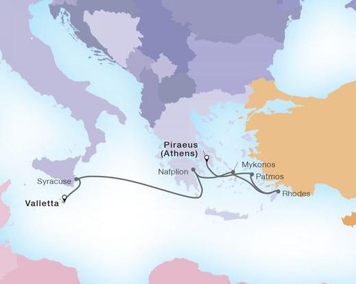 7-Day Mediterranean Isles