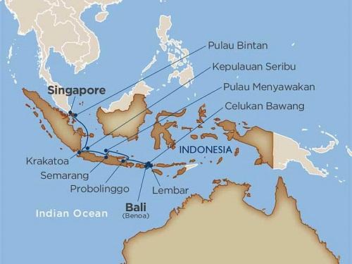 14 days - Uncommon Indonesia [Benoa to Singapore]