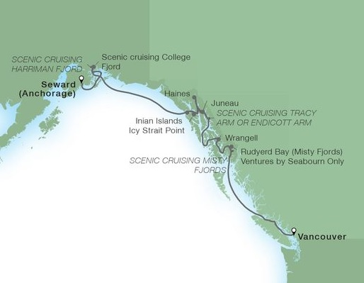 10-Day Alaska Fjord Sojourn