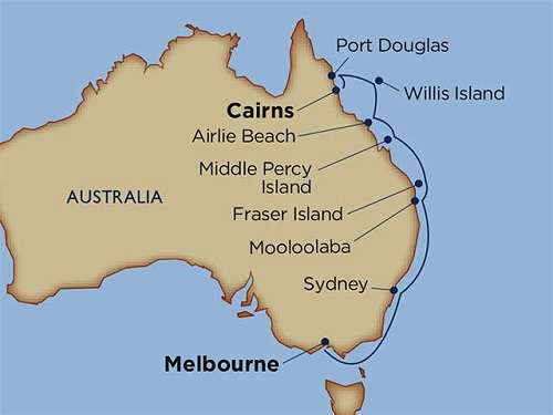 11 days - Deep Dive Down Under: The Great Barrier Reef & Beyond [Cairns to Melbourne]