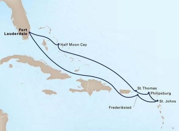 9-Day Eastern Caribbean Seafarer