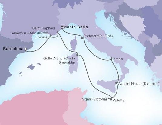 10-Day Yachtsman's Mediterranean