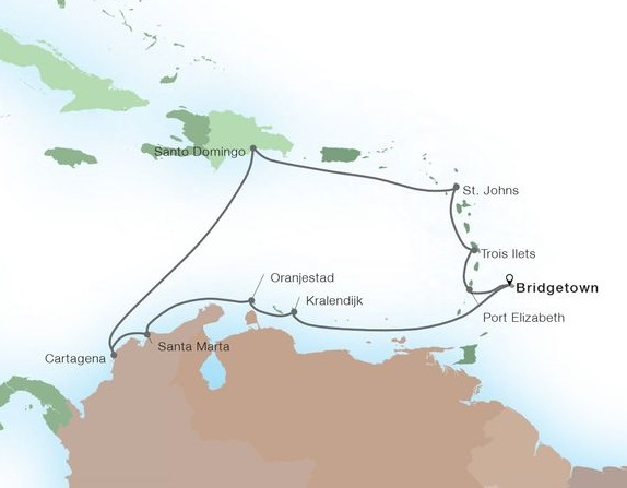 14-Day Holiday Caribbean