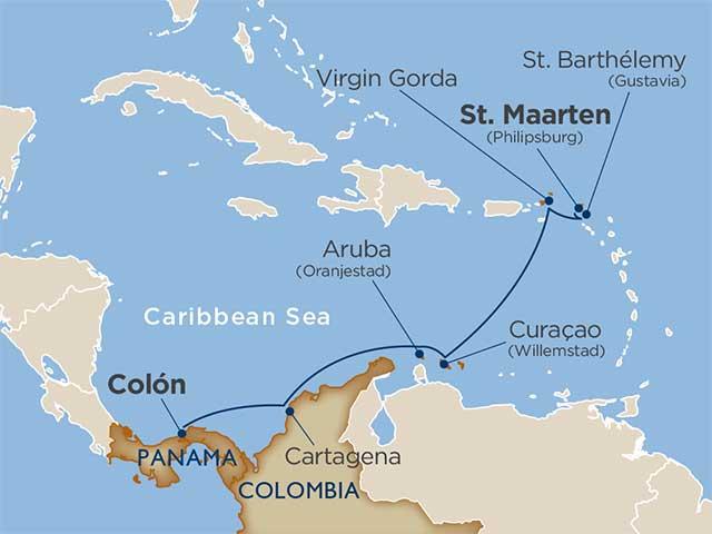11 days - Dutch Treats Steel Drum Beats [Col�n to St. Maarten]