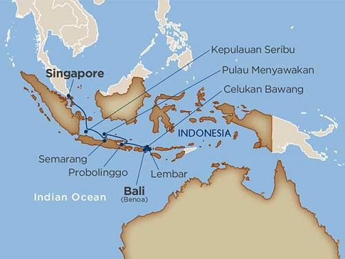 12 days - Uncommon Indonesia [Singapore to Benoa]
