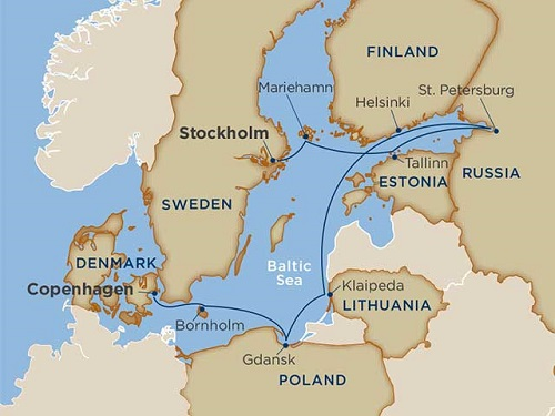 10 days - Baltic Delights [Copenhagen to Stockholm]