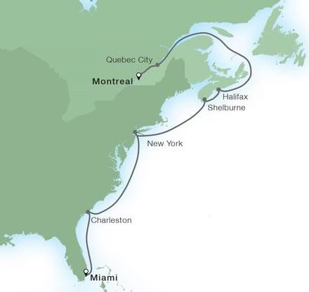12-Day Atlantic Coast Harbors