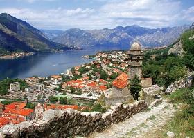 Kotor, Montenegro / Scenic Cruising Bay of Kotor